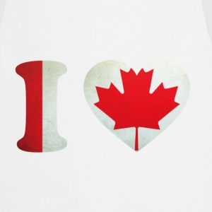 Canada I Love Flag  Aprons - Cooking Apron