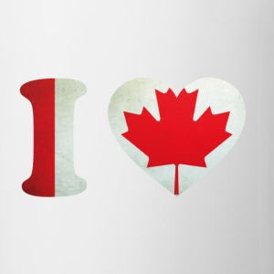 Canada I Love Flag Flessen & bekers - Mok
