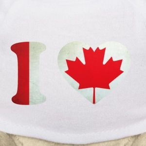 Canada I Love Flag Teddies - Teddy Bear