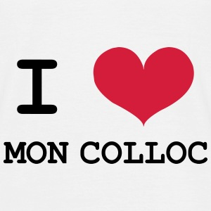 I Love mon colloc Tee shirts - T-shirt Homme