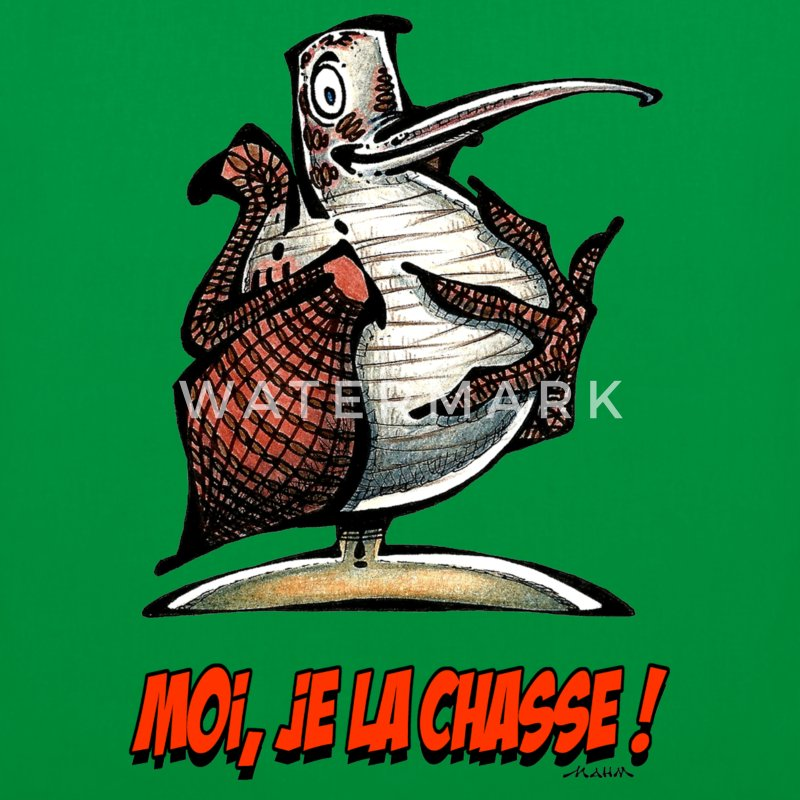 Sac BECASSE Moi, Je La Chasse ! - Tote Bag