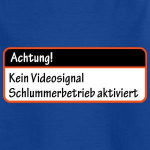 Achtung! Kind ohne Videosignal! - Teenager T-Shirt