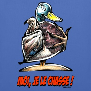 Sac CANARD COLVERT Moi, Je Le Chasse ! - Tote Bag