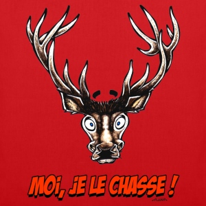 Sac CERF Moi, Je Le Chasse ! - Tote Bag