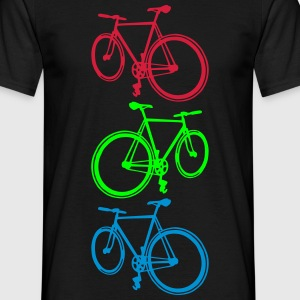 Fixie T-shirts - Mannen T-shirt