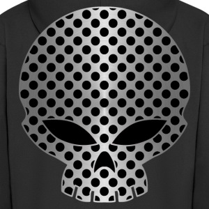 metak skull Hoodies & Sweatshirts - Men's Premium Hooded Jacket