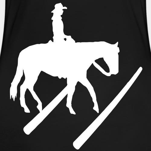 Trail Silhouette... Westernreiten Pferdemotiv