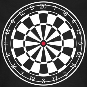 Dartboard for DARK SHIRTS ! Darts Dart Dartscheibe T-Shirts - Frauen T-Shirt