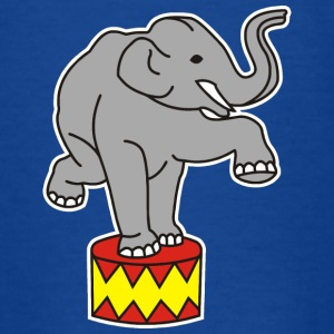 Zoo Zirkus Elefanten Circus Elephants Retro Comic T-shirts - T-shirt barn