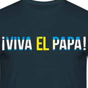 Viva el Papa - we have a new pope. - Men's T-Shirt