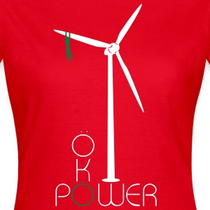 Ökopower mit Windrad Shirt for Girls - Frauen T-Shirt
