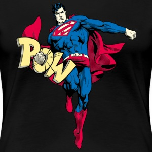 Sweat-shirt pour femmes Superman Comic-Style - T-shirt Premium Femme