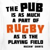 The Pub is a Part of Rugby - Men's Premium Hoodie