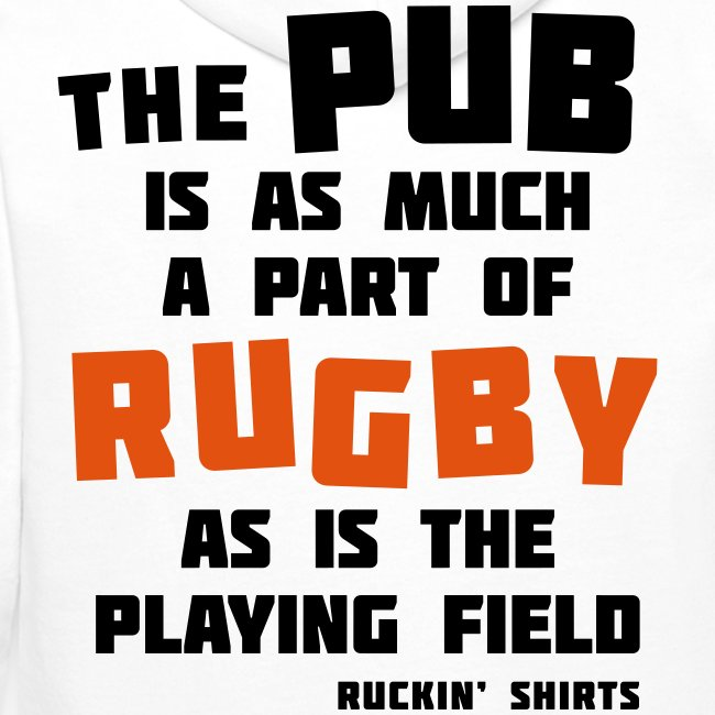 The Pub is a Part of Rugby