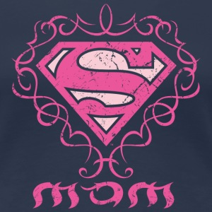 Superman S-Shield Mom 1 Frauen T-Shirt - Frauen Premium T-Shirt