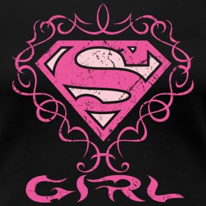 Superman S-Shield Girl 1 Frauen T-Shirt  - Frauen Premium T-Shirt