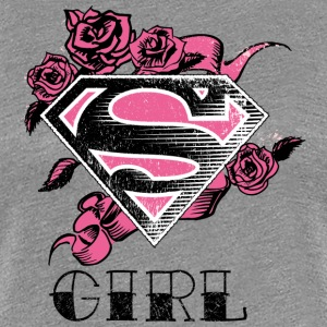 Superman S-Shield Girl 2 dame-T-shirt - Dame premium T-shirt