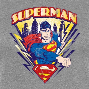 Superman Metropolis Frauen T-Shirt - Frauen Premium T-Shirt