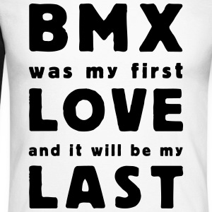 bmx was my first love Tee shirts manches longues - T-shirt baseball manches longues Homme