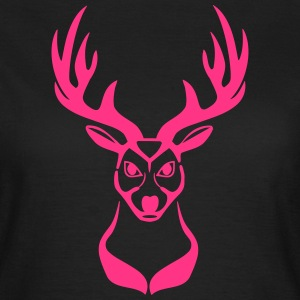Deer head 1c T-Shirts - Women's T-Shirt