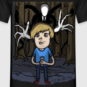 pewdiepie vs slender T-Shirts - Men's T-Shirt