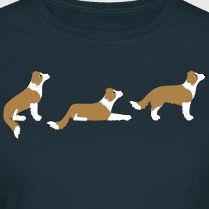 Sitz Platz Steh Border Collie Vektor T-Shirts - Women's T-Shirt