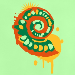 A fossil snail as a graffiti Shirts - Baby T-Shirt