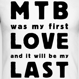 mtb was my first love Skjorter med lange armer - Langermet baseball-skjorte for menn