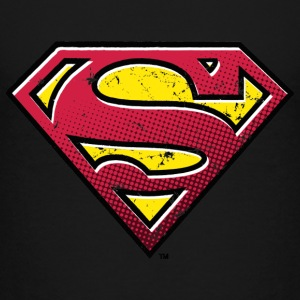 Superman S-Shield Used Look 2 børne- T-shirt - Børne premium T-shirt
