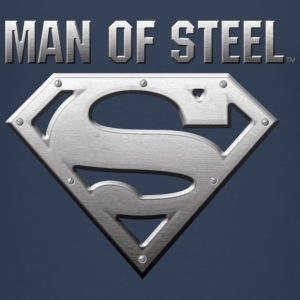 Superman S-Shield Steel Look børne-T-shirt - Børne premium T-shirt