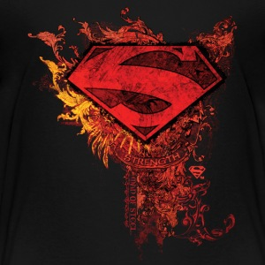 Superman S-Shield Ornate Kinder T-Shirt - Kinder Premium T-Shirt