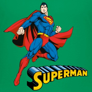 Superman Move Pose Kinder T-Shirt - Kinder Premium T-Shirt