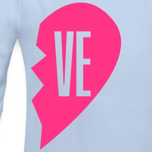 ve - love right side couple shirt Sudaderas - Body manga larga bebé