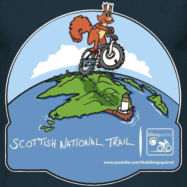The Biking Squirrel - Scottish National Trail