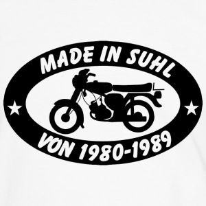 Simson S51 Made in Suhl - Männer Kontrast-T-Shirt