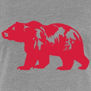 grizzly T-shirts - Premium-T-shirt dam