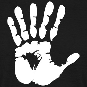 hand with 6 fingers Tee shirts - T-shirt Homme