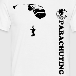 parachuting T-shirts - Mannen T-shirt