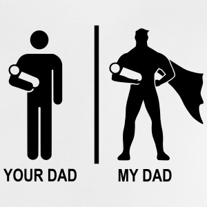 your dad, my dad Camisetas - Camiseta bebé