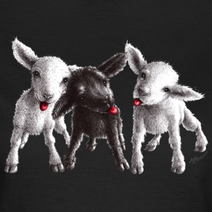 cheeky sheep - T-skjorte for kvinner