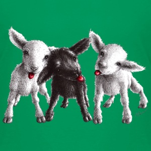 cheeky sheep - Premium-T-shirt barn