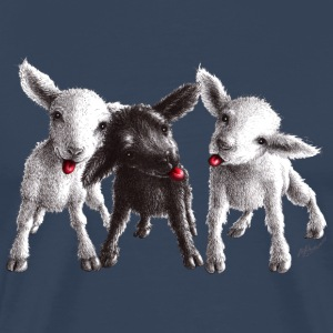cheeky sheep - Premium-T-shirt herr
