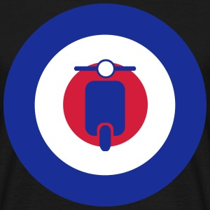 mods scooter target 2 T-Shirts - Men's T-Shirt