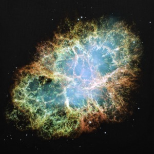 Space - The Crab Nebula  - Tote Bag