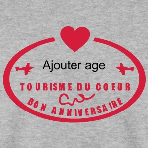 ajouter age ans tampon poste anniversair Sweat-shirts - Sweat-shirt Homme