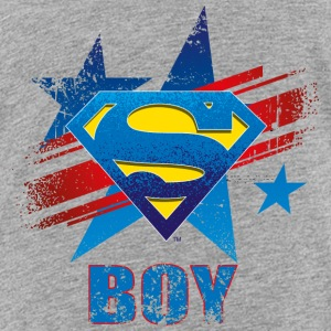 Superman S-Shield Boy Kinder T-Shirt - Kinder Premium T-Shirt