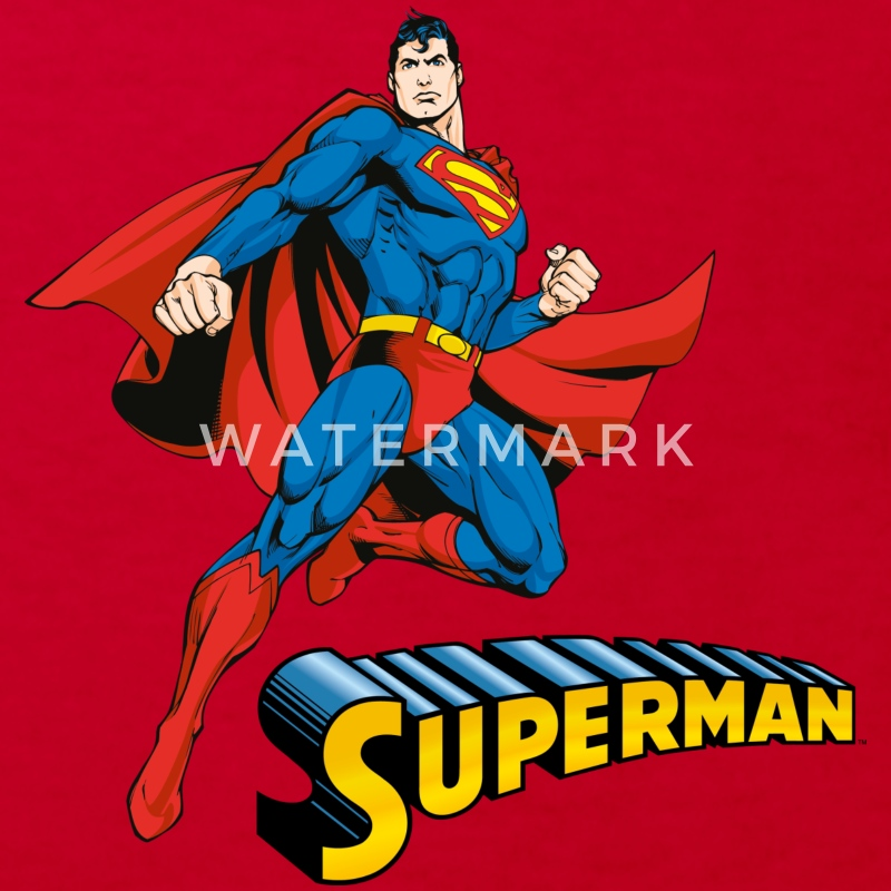 Superman Move Pose T-shirt barn - Ekologisk T-shirt barn