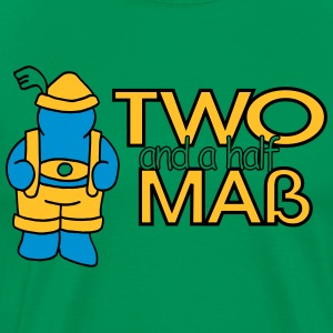 Two and a half Maß T-Shirts - Männer Premium T-Shirt