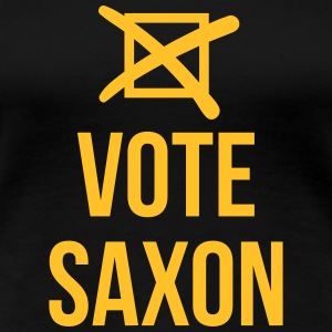 Vote Saxon T-Shirts - Frauen Premium T-Shirt