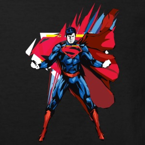 Superman Power Pose Kinder T-Shirt - Kinderen Bio-T-shirt